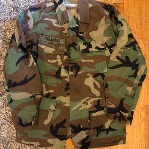 Vintage Jackets & Coats - Oversized Army Jacket
